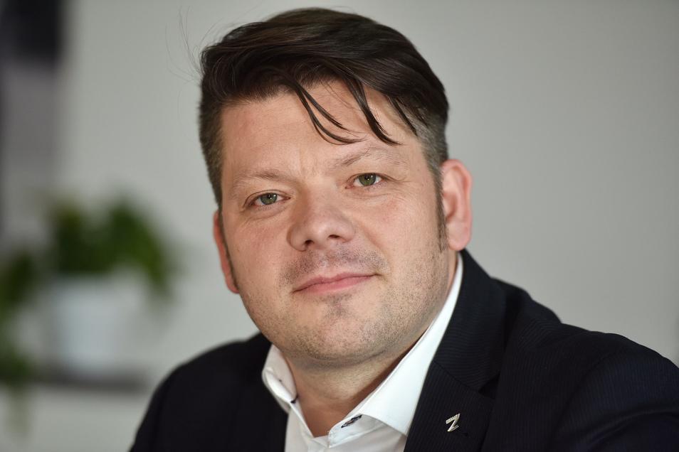 Zittaus Oberbürgermeister Thomas Zenker.