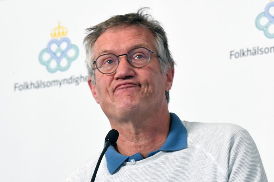 Anders Tegnell, Staatsepidemiologe der schwedischen Gesundheitsbehörde