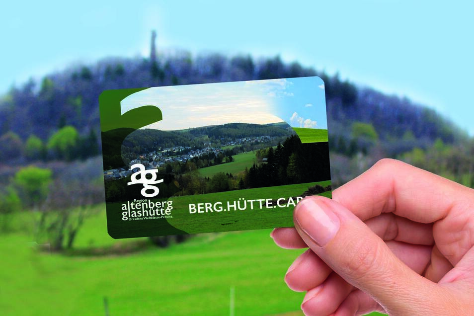 Damit die Glashütter und Altenberger ihre Region besser kennen lernen, sollen sie mithilfe einer kostenfreien Vorteilskarte verbilligt zu Attraktionen kommen.