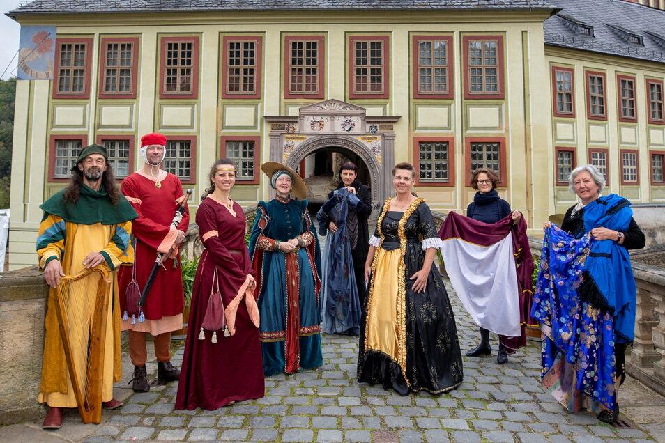 Am Sonntag werden die Figuren der Weesensteiner und Dohnaer Geschichte auf dem Schloss wieder lebendig - und an beiden Tagen in Dohna.