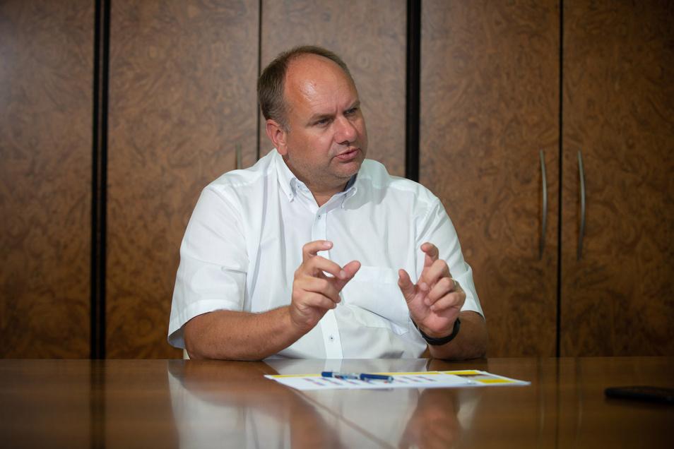 Oberbürgermeister Dirk Hilbert (FDP) kann sein Konzept der Kulturinseln in der Innenstadt umsetzen.