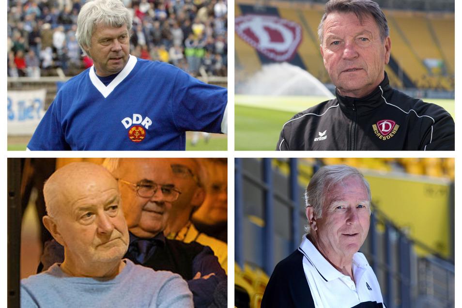 Jürgen Sparwasser, Dixie Dörner, Hansi Kreische und Klaus Sammer unterstützen eine Initiative von Fußballfans, die eine Änderung der Abstiegsregel fordern.