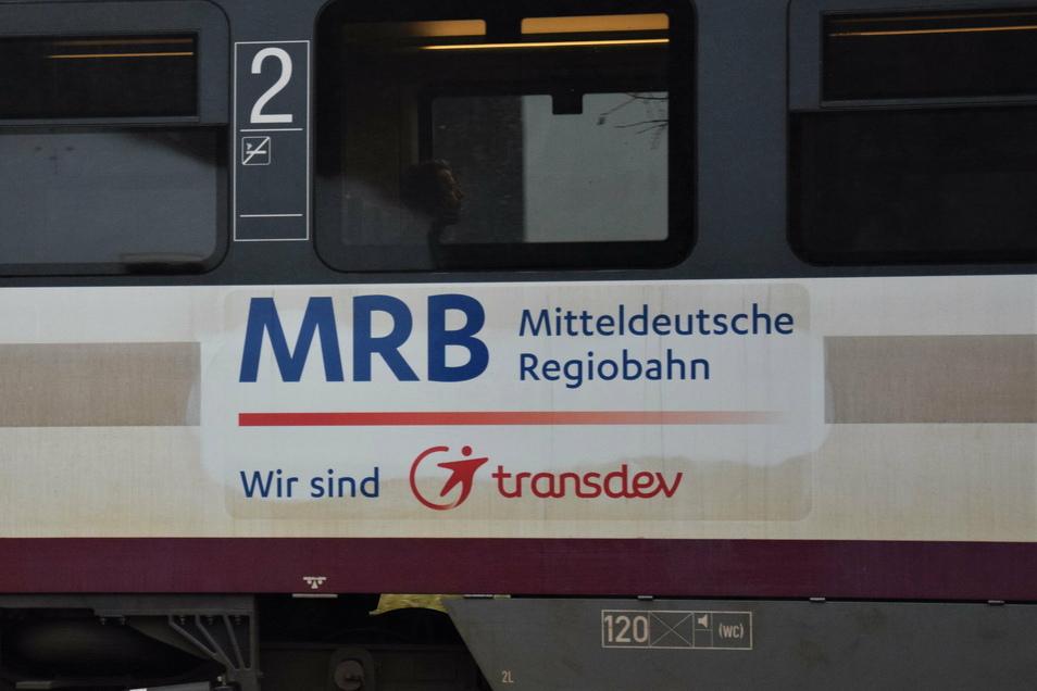 Die Mitteldeutsche Regiobahn baut am Montag auf der Strecke zwischen Kamenz und Dresden.