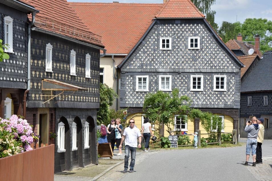 2016 gab es in Obercunnersdorf guten Zuspruch beim Tag des offenen Umgebindehauses. Dieses Jahr fand die Veranstaltung wegen Corona nur virtuell statt.