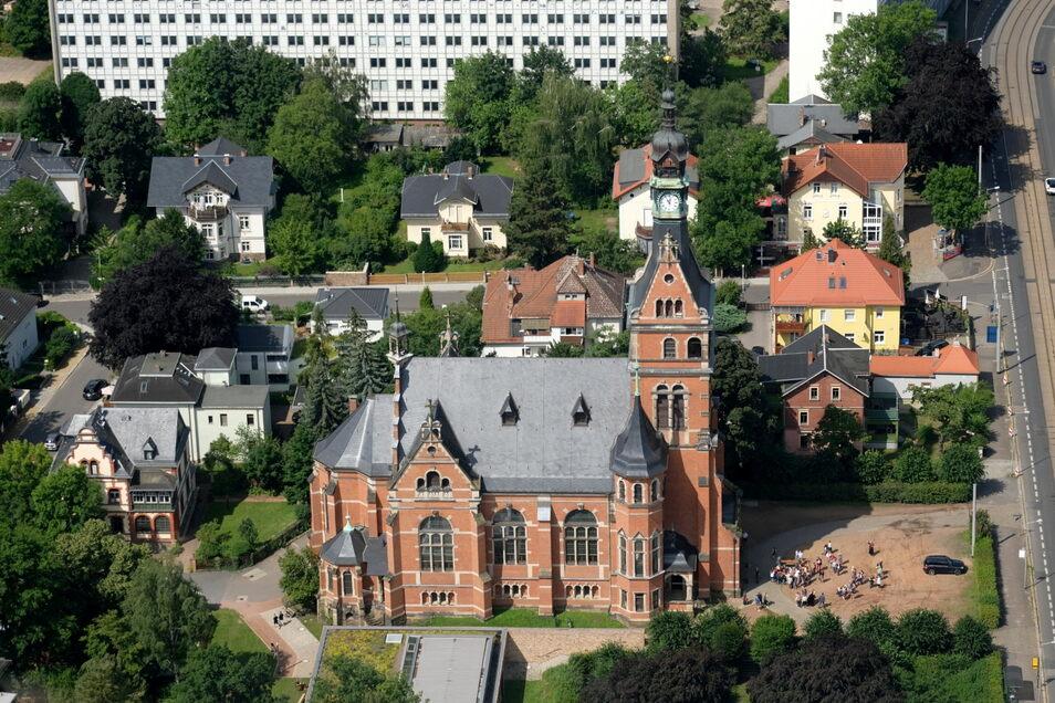 Die Lutherkirche in Radebeul-Ost ist eines der beiden Gotteshäuser in der Lößnitzstadt, die zum Kirchspiel gehören.