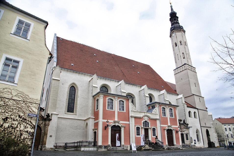 Ebenso wie für die Zittauer Klosterkirche.