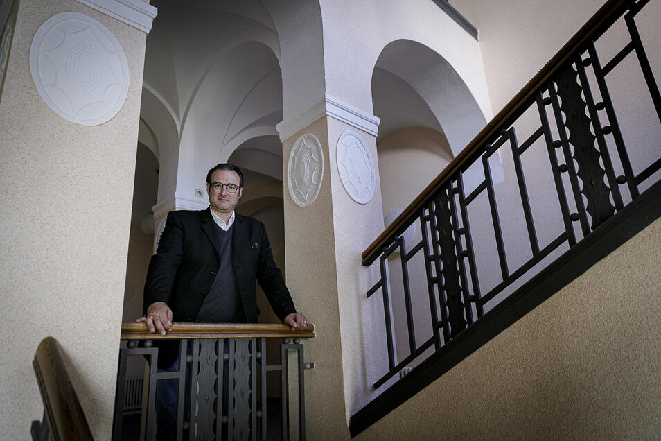 Falk Werner Orgus, der Leiter des Kreis-Ordnungsamtes in Görlitz, hat derzeit kaum Muße, um so zu verweilen.