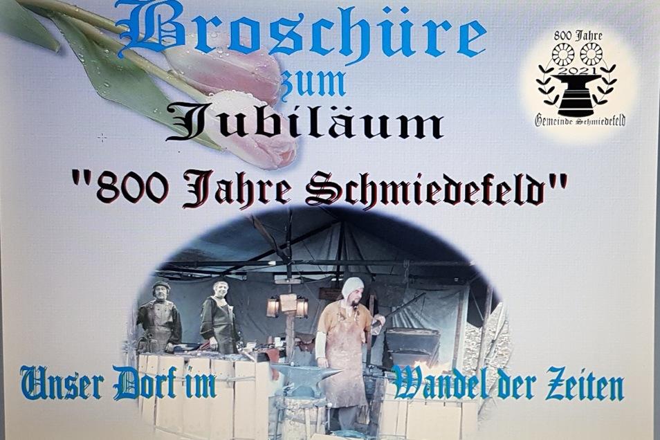 Auf 78 Seiten hat Christian Schöne die Geschichte von Schmiedefeld festgehalten. Viele Schmiedefelder hätten ihn dabei ünterstützt, betont der 75-Jährige..