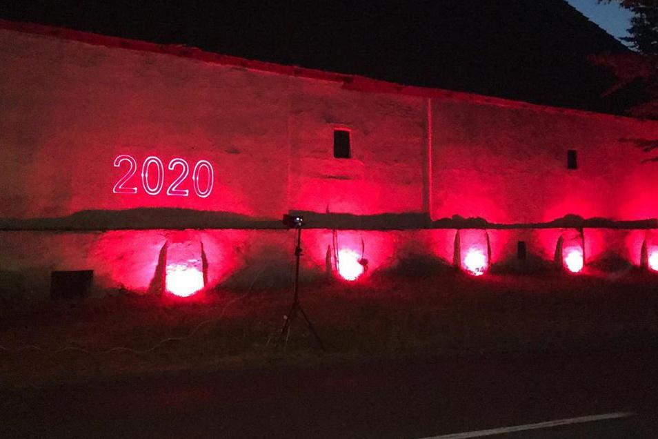 Mit ihrer neuen Location war die Fewa vorige Woche bei der Night of Light vertreten. Veranstalter machten dabei auf ihre Lage in der Corona-Krise aufmerksam.
