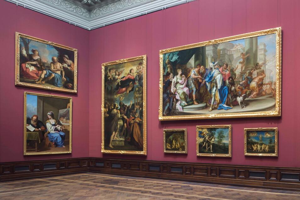 Zu den ersten geöffneten Museen in Sachsen nach dem Lockdown gehörten am Montag in Dresden die Gemäldegalerie Alte Meiste.