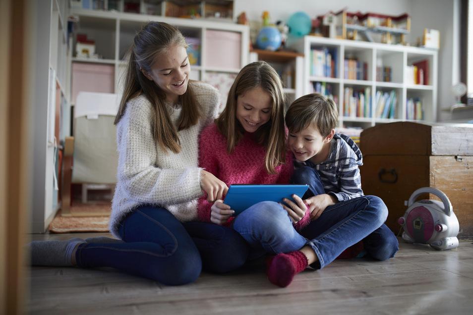 Das mittlere Kind ist Lerner und Lehrer zugleich.