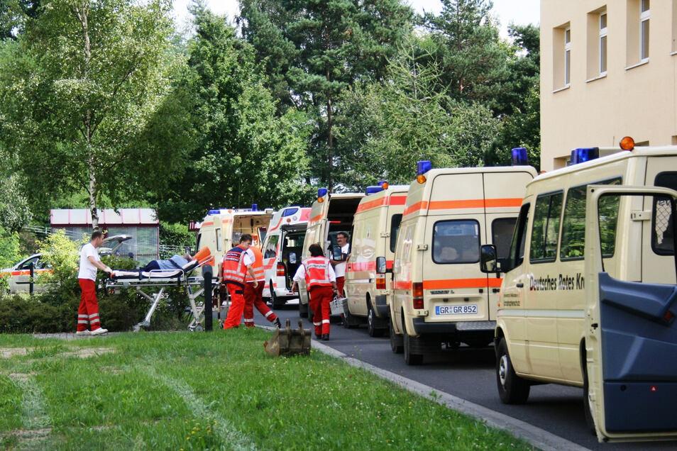 Gleich zweimal mussten die Bewohner des Martinshofes vor zehn Jahren evakuiert werden: Im August und im September.