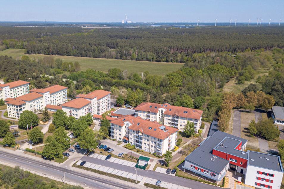 Der Komplex AWO Medicare in Hoyerswerda vereint Tagespflege und Ambulante Pflege, Sozialstation, Arztpraxen und seniorengerechte Wohnungen.