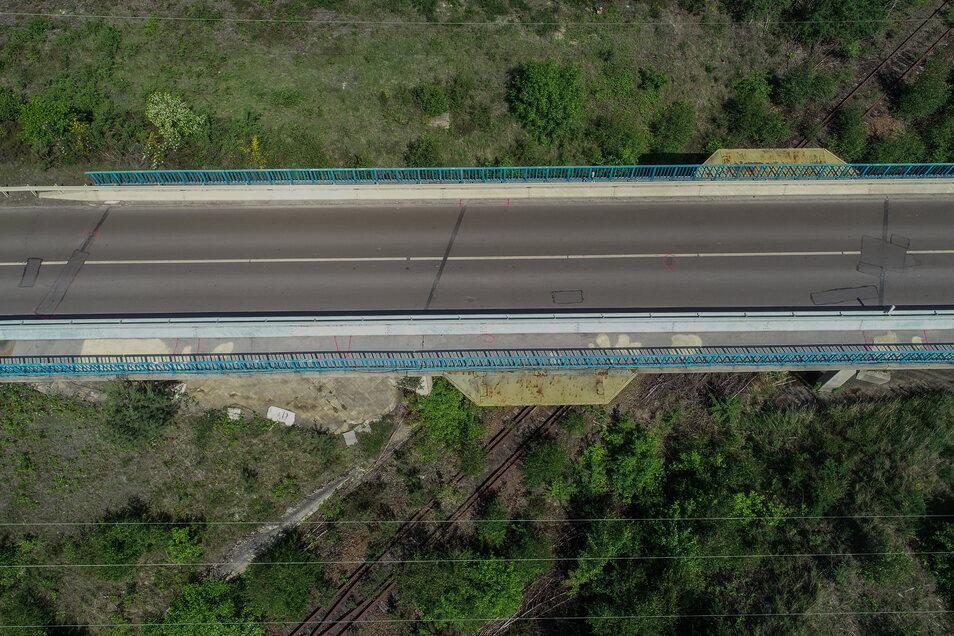 Bilder von der Brücke Foto: FlyNex GmbH