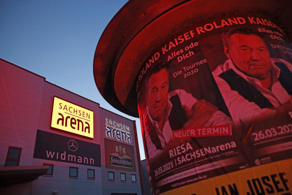 Auch das Konzert von Roland Kaiser, das eigentlich für März geplant war, musste ins nächste Jahr verschoben werden.