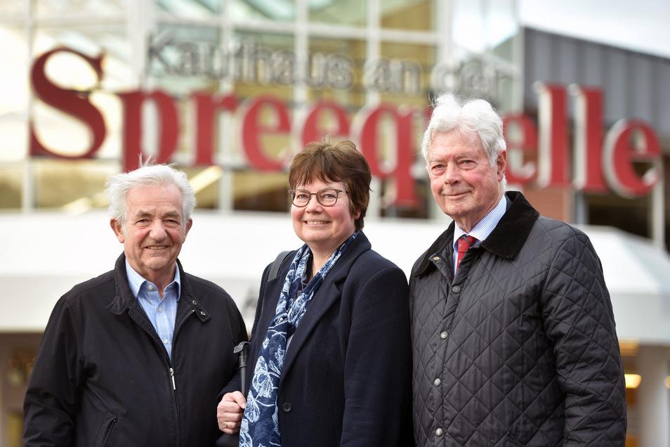 Leiten das Familienunternehmen: Eckhard Unruh, Charlotte Deerberg und ihr Vater Karl-Wilhelm Deerberg (von links).