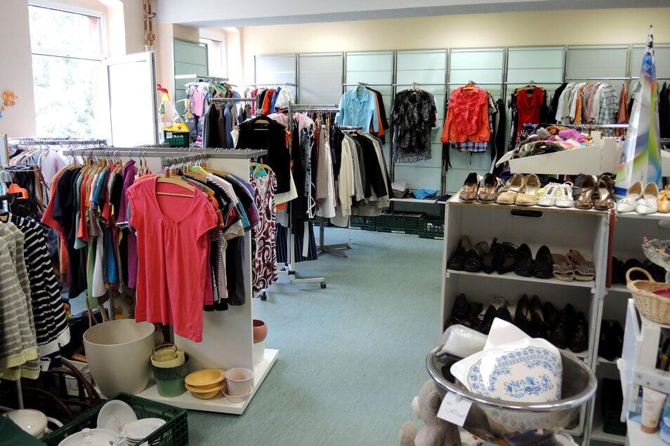 Eine Kleiderkammer des DRK.