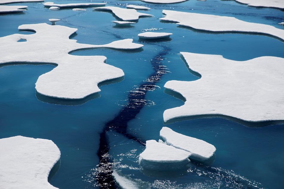 Die Erderwärmung ist in der Arktis nochmals schneller vorangeschritten als bislang angenommen.