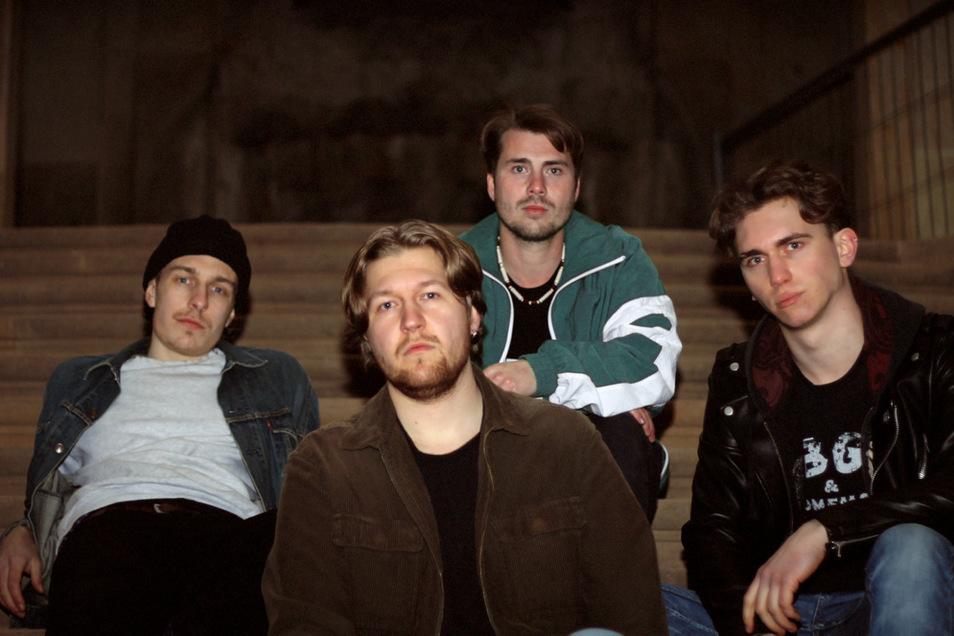 Florus, Jannik (vorne Mitte), Johann, Eric