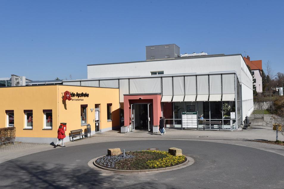 Im Krankenhaus Dippoldiswalde werden aktuell keine Corona-Patienten behandelt.
