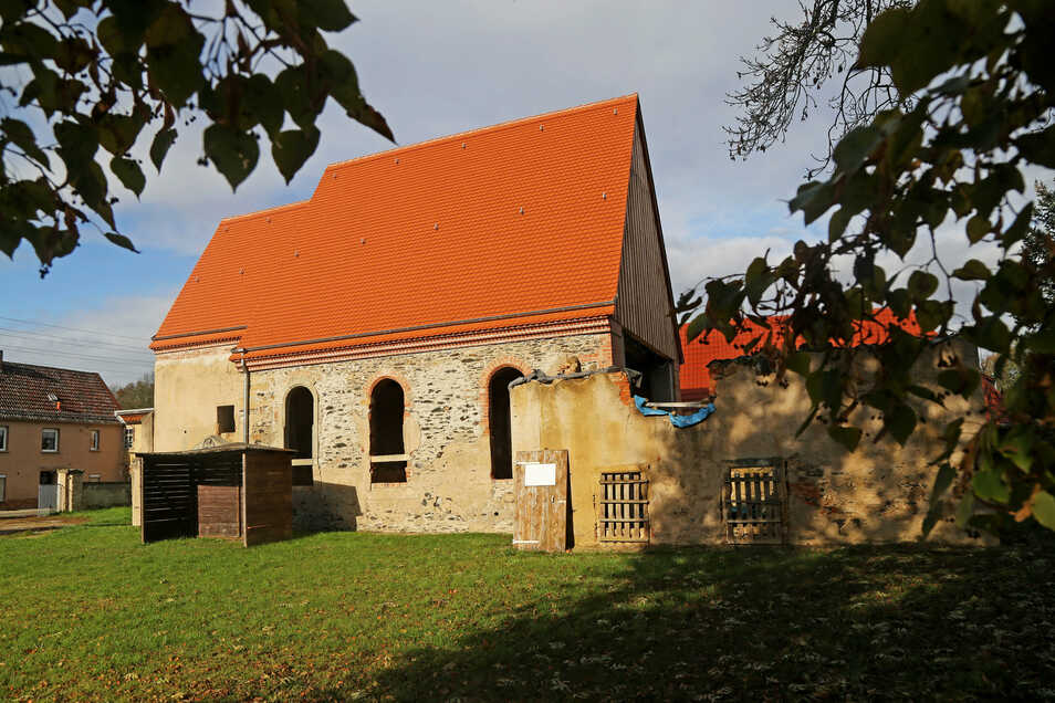 Die Kirche in Canitz.