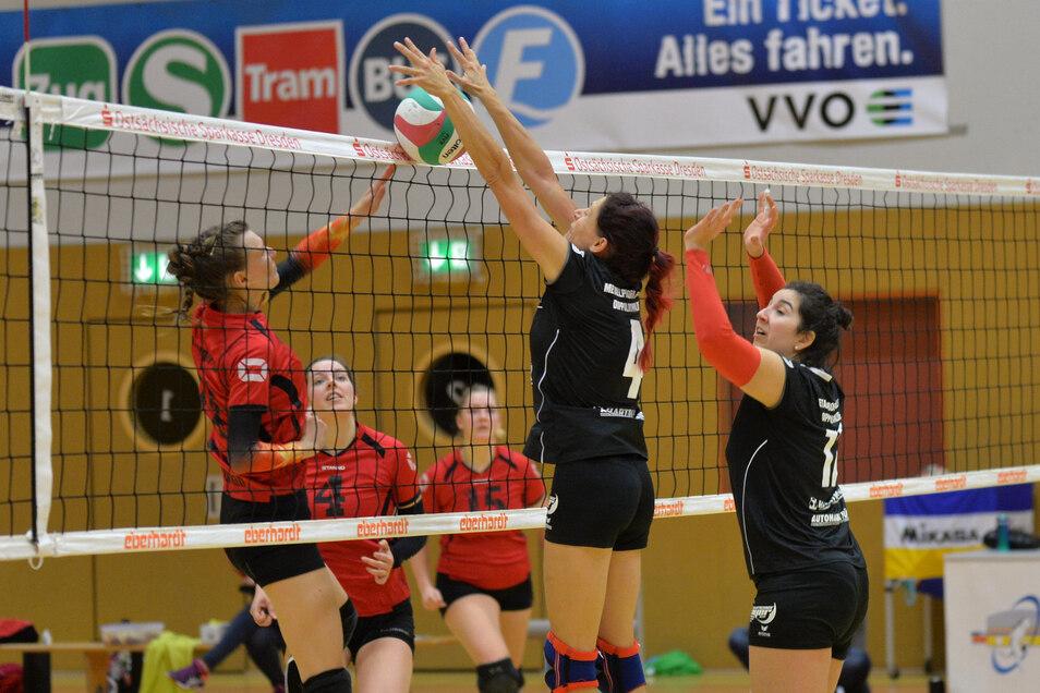 Die Blockbildung ist derzeit untersagt - auch beim Volleyball gilt die Abstandsregel.