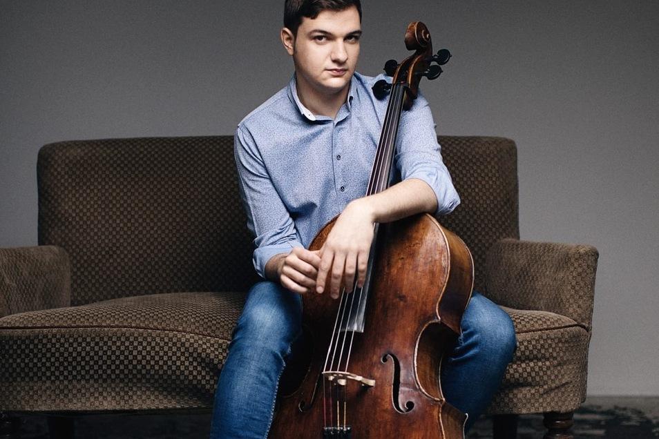 Der junge rumänische Cellist Andrei Ionita spielte bereits im Mariinski-Theater in Moskau und der Carnegie Hall in New York.