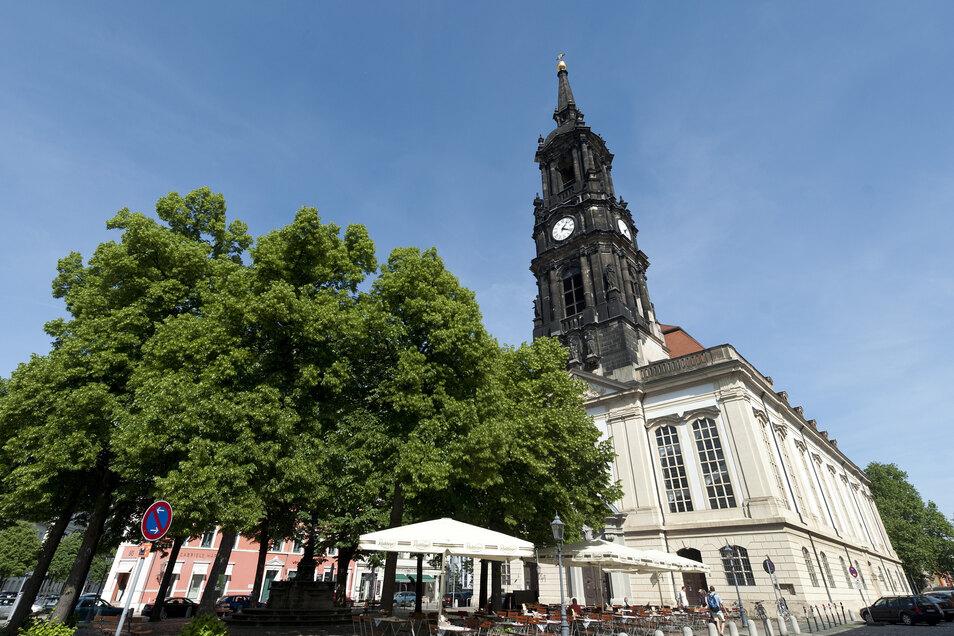 Auf der Straße An der Dreikönigskirche war der Dieb in eine Gaststätte eingebrochen.