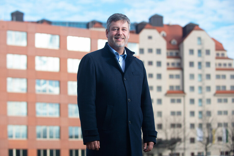 Albrecht Pallas wurde am Samstag zum neuern SPD-Vorsitzenden in Dresden gewählt.