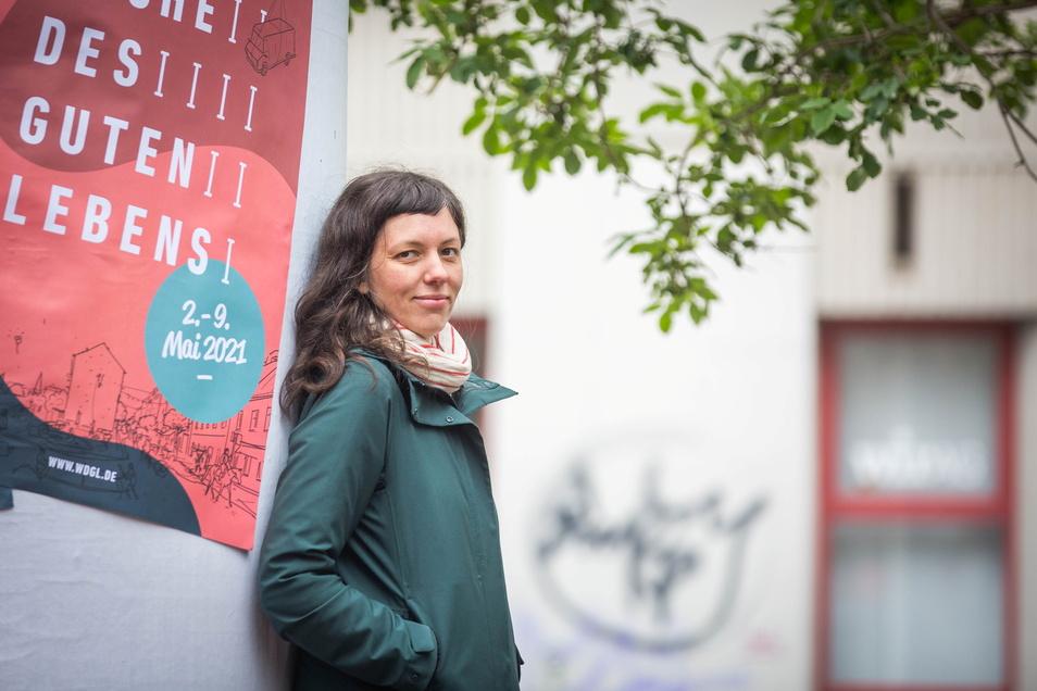 """Judith Kleibs ist Initiatorin der Woche des guten Lebens. Im SZ-Gespräch erklärt sie, wie es mit dem Projekt """"autofreie Neustadt"""" weitergeht."""