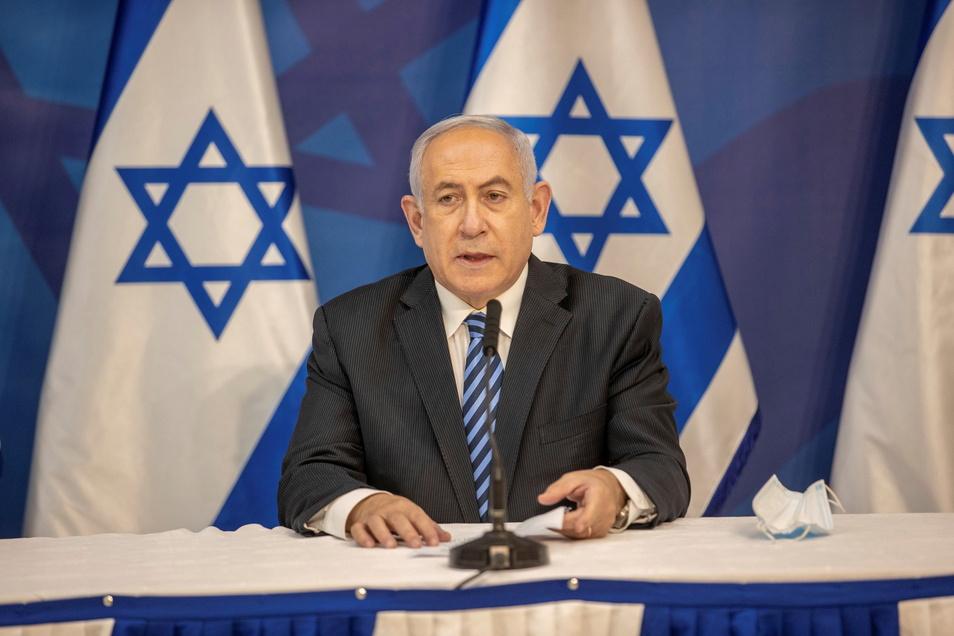 Benjamin Netanjahu  ist seit 2009 Ministerpräsident von Israel.  Die vierte Wahl binnen zwei Jahren ergab erneut keine klaren Mehrheitsverhältnisse, eine Regierungsbildung scheiterte.