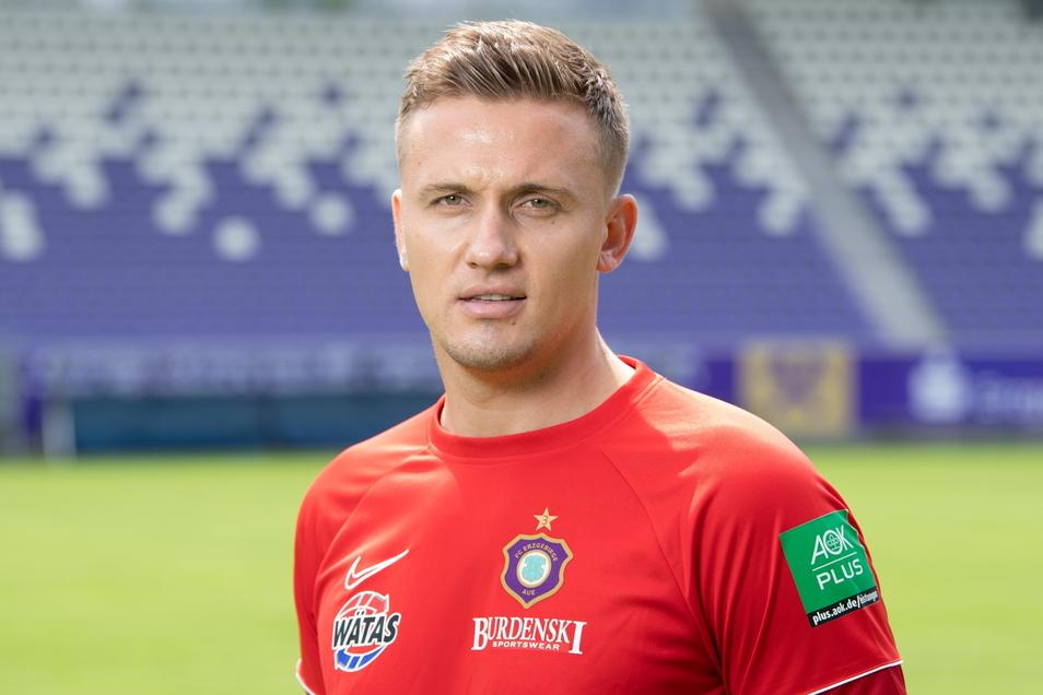 Aliaksei Shpileuski ist der neue Trainer des FC Erzgebirge Aue. Ein Rückkehr nach Leipzig hält er für möglich.