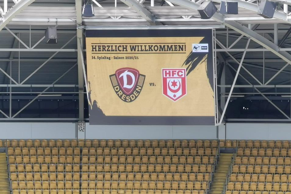 Dynamo Dresden trifft heute auf den Halleschen FC. 14 Uhr ist Anstoß im Rudolf-Harbig-Stadion.