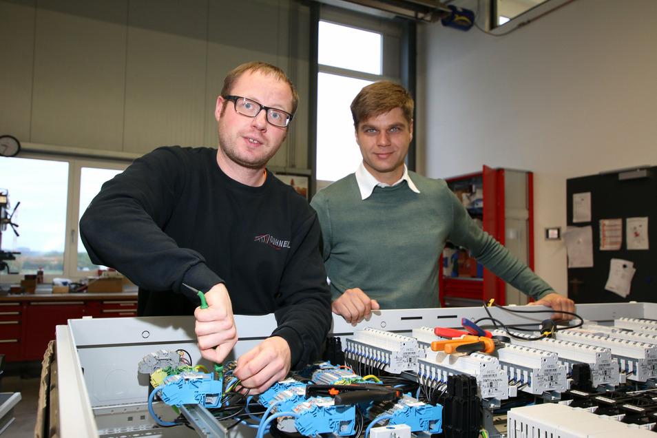 In der Roßweiner Firmenzentrale von Söhnel Elektroanlagen werden unter anderem Schaltkästen gebaut.