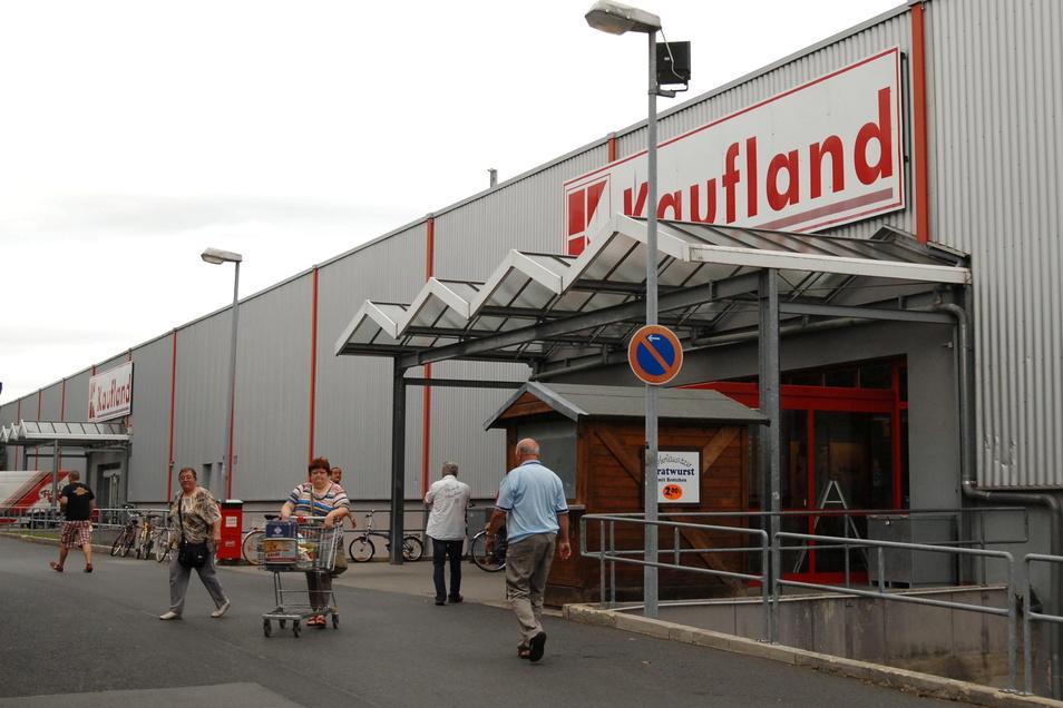 Das Kaufland an der Christian-Keimann-Straße in Zittau soll abgerissen werden.