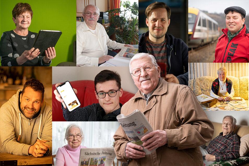 """Mehr als nur """"Zeitung lesen"""": Unsere Leser haben ihre ganz eigenen Gewohnheiten, die Inhalte der SZ und von Sächsische.de zu konsumieren."""