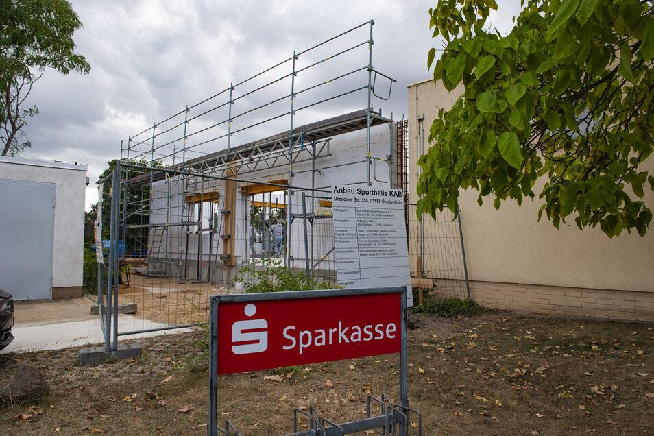 600.000 Euro investiert der mitgliederstärkste Sportverein der Stadt in einen neuen Anbau.