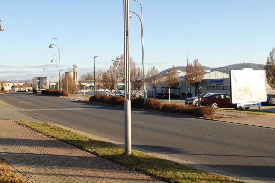 Löbaus Gewerbegebiet West soll erweitert werden.
