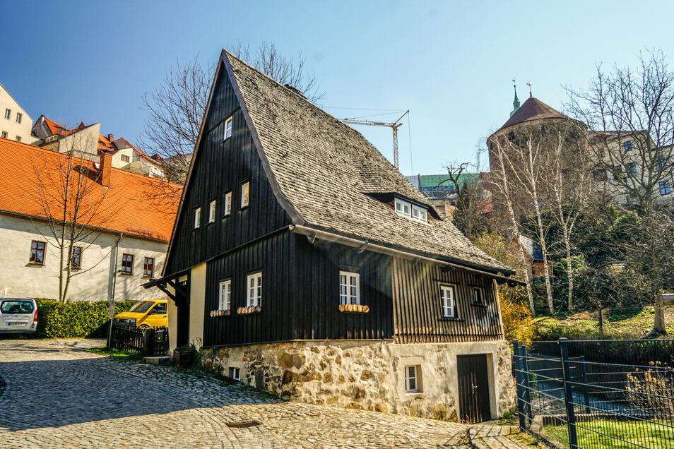 Das Hexenhäusel besteht zu großen Teilen aus Holz. Gebaut wurde es noch vor dem Dreißigjährigen Krieg.