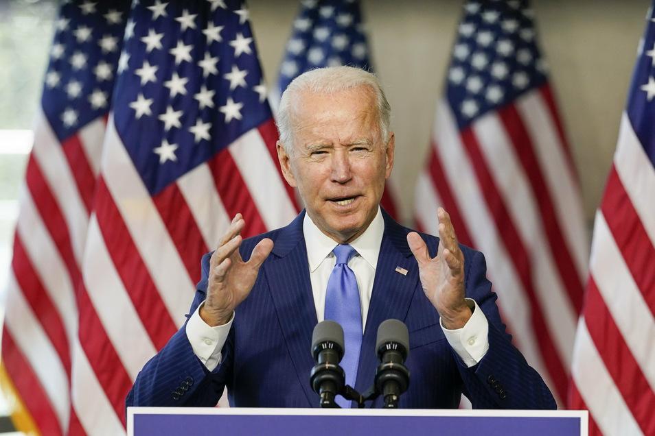 """Twitter hatte die Verbreitung des Weblinks zu einem Artikel der """"New York Post"""" unterbunden, der Joe Biden (Foto) mit Geschäften seines Sohnes Hunter in der Ukraine in Verbindung zu bringen versuchte."""