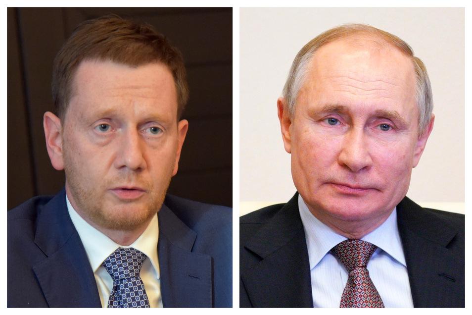 Sachsens Ministerpräsident Michael Kretschmer hat den russischen Präsidenten Wladimir Putin nach Dresden eingeladen.