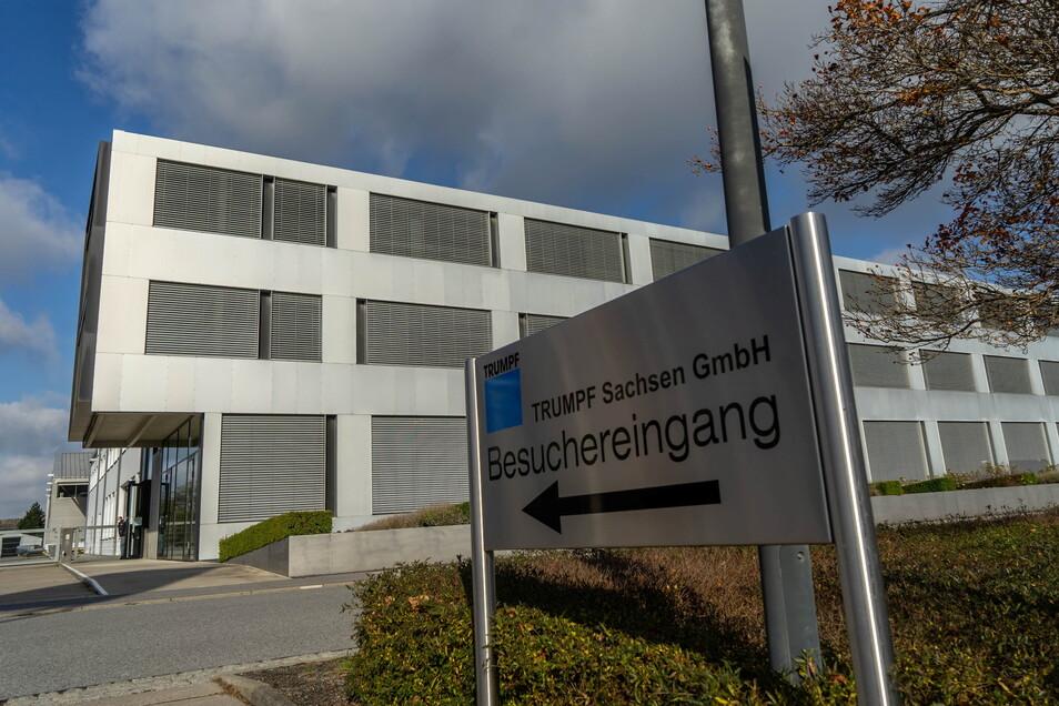 Bei der Firma Trumpf in Neukirch stehen Veränderungen in der Produktion an. Ein Bereich wird in die Schweiz verlegt.
