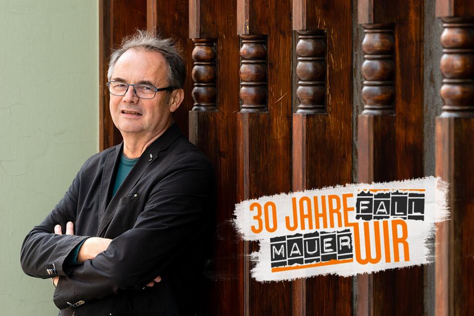 Peter-Paul Straube war lange ein Suchender. Mit seiner Familie reiste der gebürtige Werdauer 1986 aus der DDR aus, neun Jahre später kommen Straubes zurück in den Osten und finden in Bautzen eine neue Heimat.