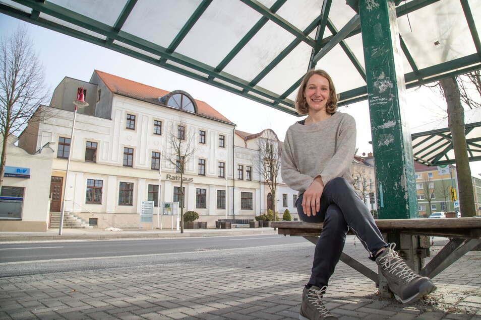 Seit einem Monat ist Franziska Arauner als Mitarbeiterin für Stadtmarketing in der Stadtverwaltung Niesky beschäftigt.