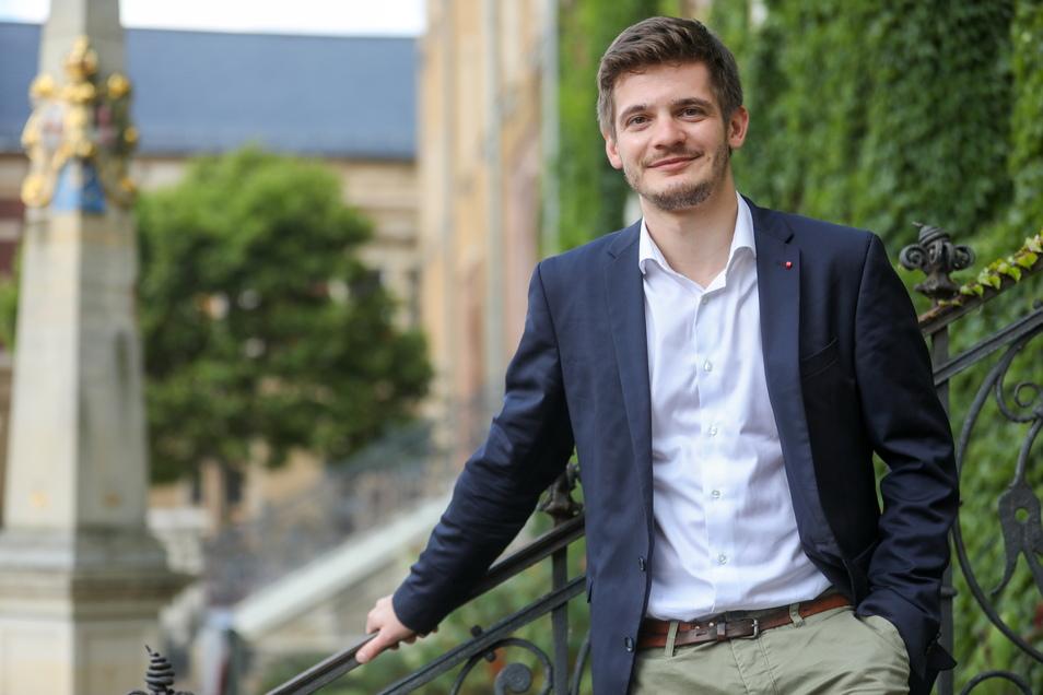 Alexander Geißler will seine Heimat Mittelsachsen künftig im Bundestag repräsentieren. Für die SPD tritt er auf Landeslistenplatz 9 an.
