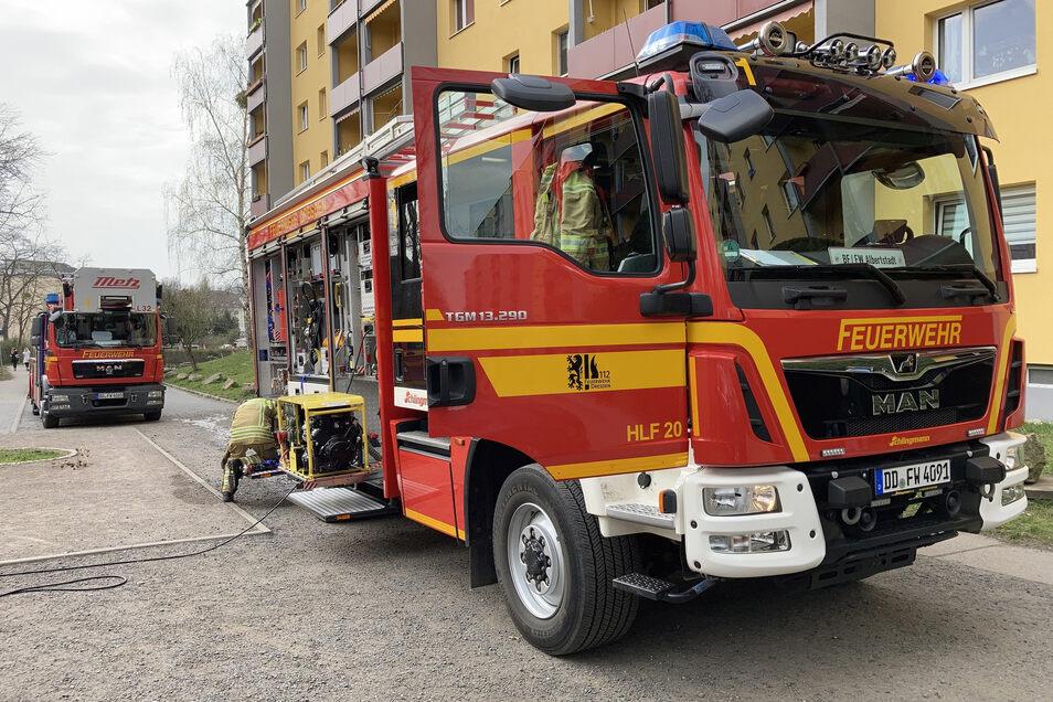 Alarm in einer Dresdner Kita: In der Einrichtung in der Radeberger Vorstadt hat es am Gründonnerstag gebrannt.