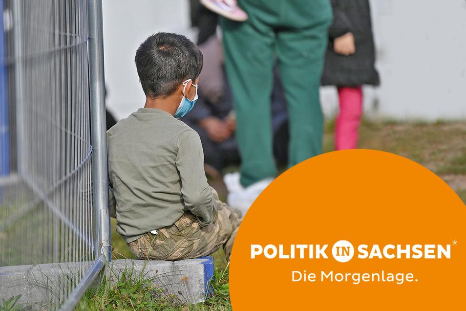Vor allem Sachsen, Brandenburg und Mecklenburg-Vorpommern registrieren seit Anfang August einen steten Anstieg von illegal Einreisenden