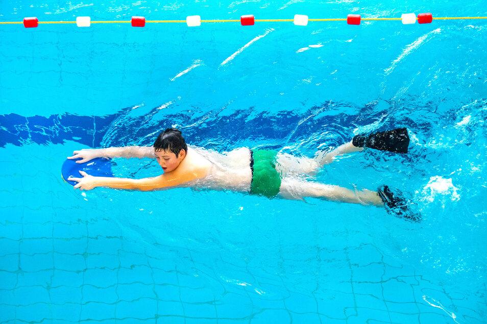 Die Schwimmer des Roßweiner Sportvereins können wieder trainieren.