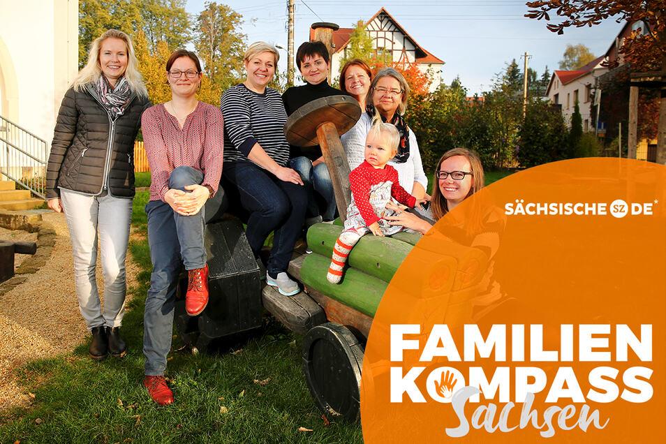 Wie steht es um Freizeitmöglichkeiten in Großröhrsdorf? Darüber diskutierten Mütter in der Kita Agnesheim und konnten viele Anregungen zusammentragen.