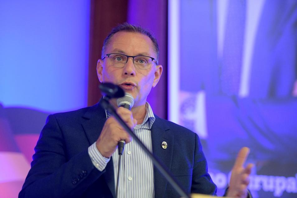 Tino Chrupalla hat den Wahlkreis Görlitz klar gewonnen. Die AfD hatte in allen Gemeinden bei den Zweitstimmen die Nase vorn.